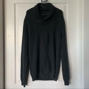 Men's RW&Co Knit Cowl-Neck Sweater